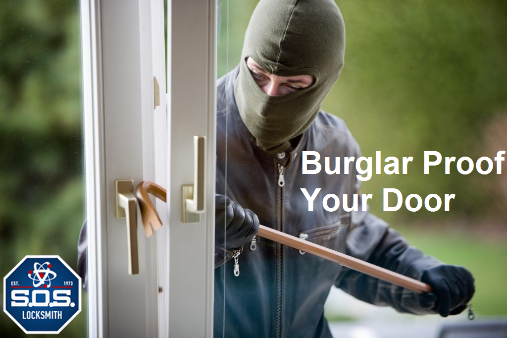 burglar proof door