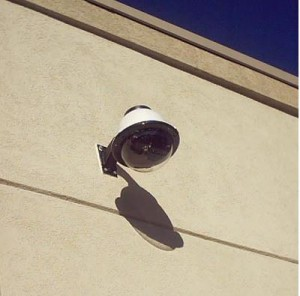 External CCTV with Cover