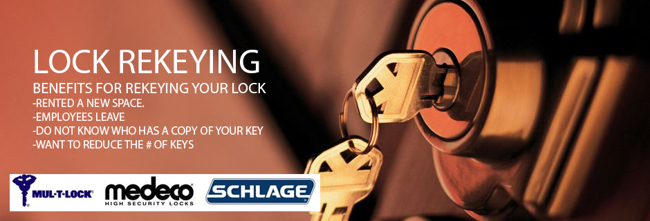 REKEYING LOCK