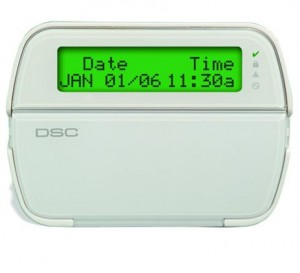 Smart LCD Alarm Keypad