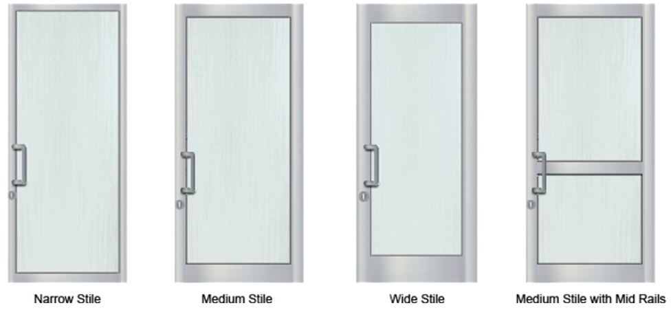4 Main Types of Aluminum Doors  sc 1 st  SOS Locksmith & 212-206-7777 Aluminum Doors NYC | SOS Locksmith supplies Aluminum ...